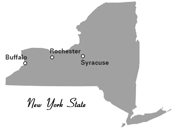 PTAUNY has members in Buffalo, Rochester, and Syracuse, New York